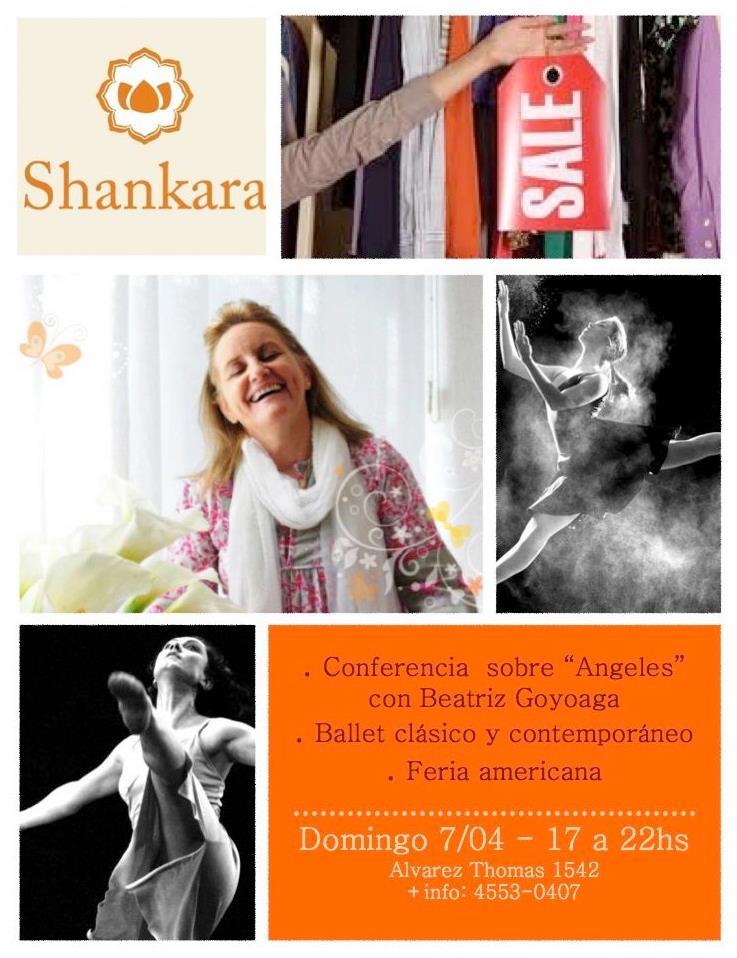 Feria con Conferencia Beatriz Goyoaga sobre Angeles
