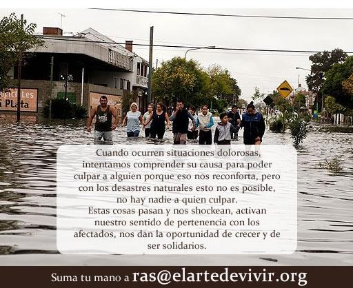 Inundaciones Argentina El Arte de Vivir en Acción