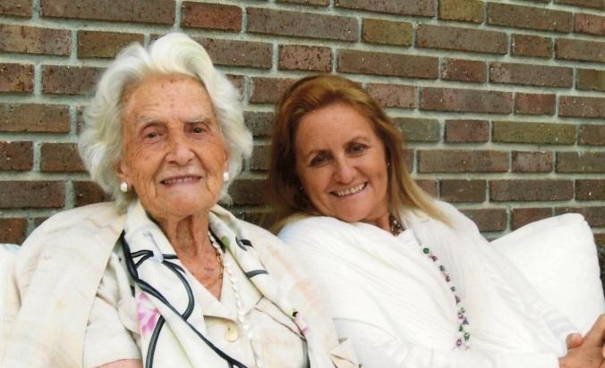 Foto Bea con mamá