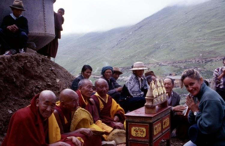Tibet - monasterio de drepung - Mediana